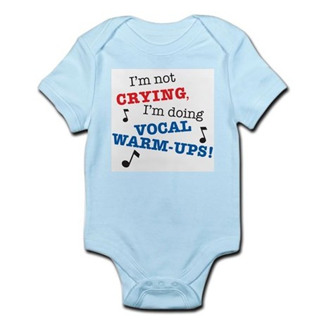 CafePress Im_Not_Crying_7x7 Body Suit