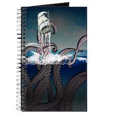 Kraken Attacks Ship at Sea Journal