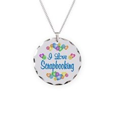 I Love Scrapbooking Necklace