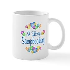 I Love Scrapbooking Mug