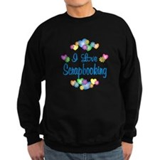 I Love Scrapbooking Sweatshirt