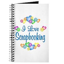 I Love Scrapbooking Journal