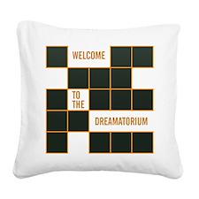 Dreamatorium Square Canvas Pillow