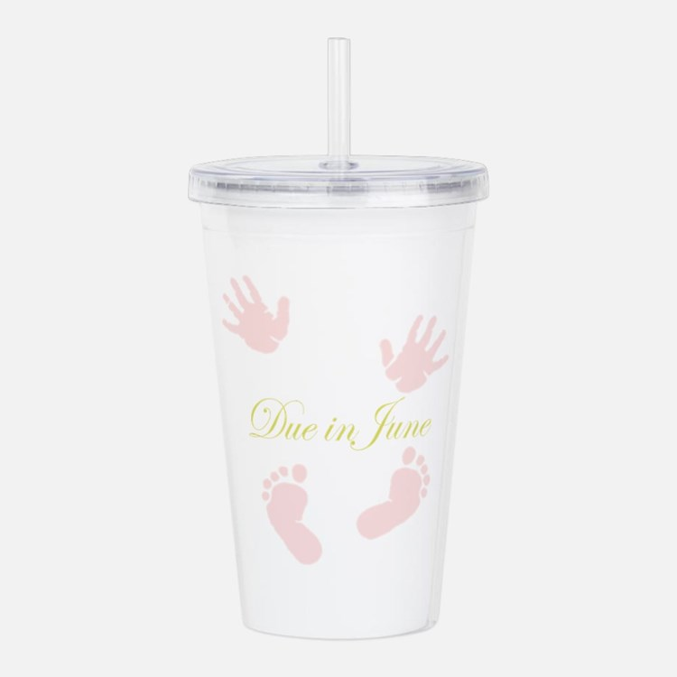 Due in June Acrylic Double-wall Tumbler