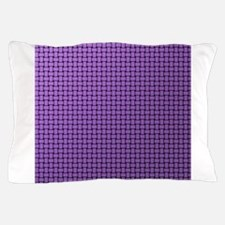 friendly purple with a dark edge Pillow Case