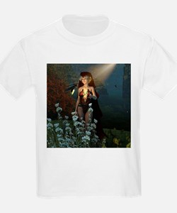 The witch speaks with their firefly T-Shirt