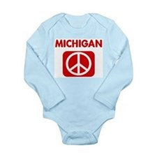 Cute A place of peace Long Sleeve Infant Bodysuit