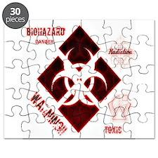 Biohazard red Puzzle