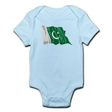Pakistan Flag Body Suit