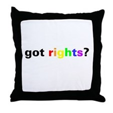 Unique Lgbt Throw Pillow