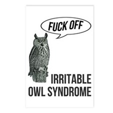 Irritable Owl Syndrome Postcards (Package of 8)