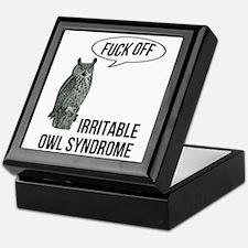 Irritable Owl Syndrome Keepsake Box