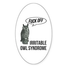 Irritable Owl Syndrome Decal