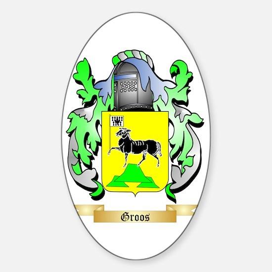 Groos Sticker (Oval)