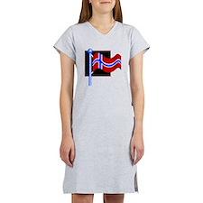 Norway Flag Women's Nightshirt