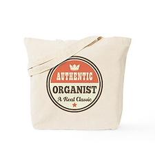 Organist Vintage Retro Tote Bag