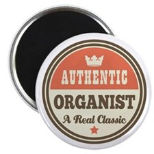 Organist Vintage Retro Magnet