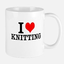 I Love Knitting Mugs