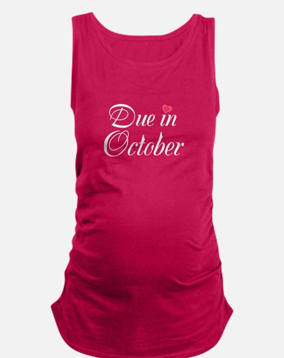 Due in (Write in the Month) Maternity Tank Top