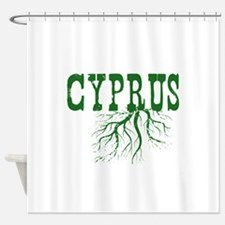 Cyprus Roots Shower Curtain