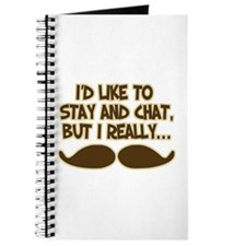 Funny Mustache Humor Journal