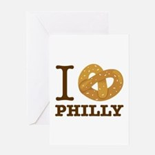I Love Philly Greeting Cards
