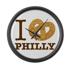 I Love Philly Large Wall Clock
