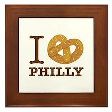 I Love Philly Framed Tile