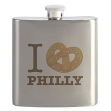 I Love Philly Flask
