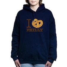 I Love Philly Women's Hooded Sweatshirt