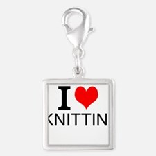 I Love Knitting Charms