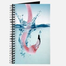 Funny Pink Flamingo Journal