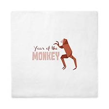 Year Of The Monkey Queen Duvet