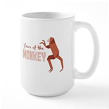 Year Of The Monkey Mugs