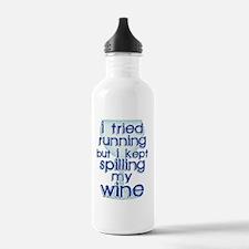 Lazy Wine Drinking Hum Water Bottle