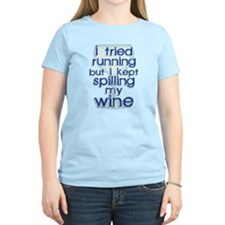 Lazy Wine Drinking Humo T-Shirt