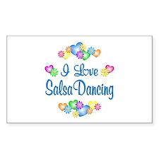 I Love Salsa Decal
