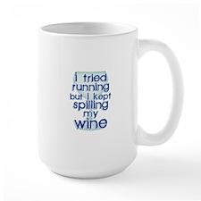 Lazy Wine Drinking Humor Mugs