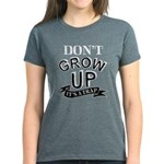 Don't Grow Up, It's A Trap Women's Dark T-Shirt