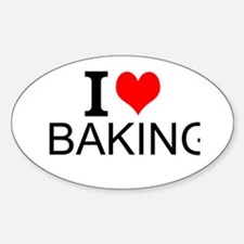 I Love Baking Decal