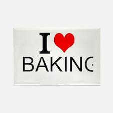 I Love Baking Magnets