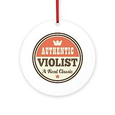 violist viola Ornament (Round)