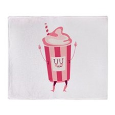 Fountain Drink Throw Blanket