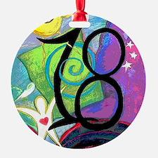 18 Round Ornament