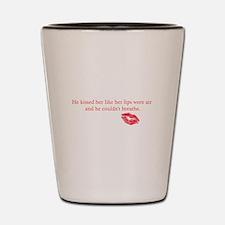 His Kiss Shot Glass