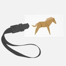 Chinese Horse Luggage Tag