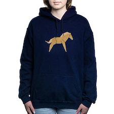 Chinese Horse Women's Hooded Sweatshirt