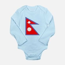 Nepal Flag Body Suit