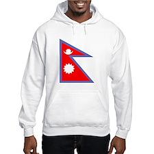 Nepal Flag Hoodie