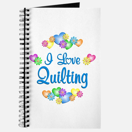 I Love Quilting Journal